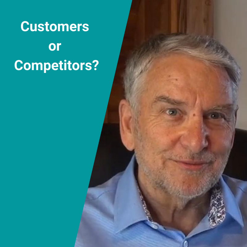 Are you focused on customers or competitors